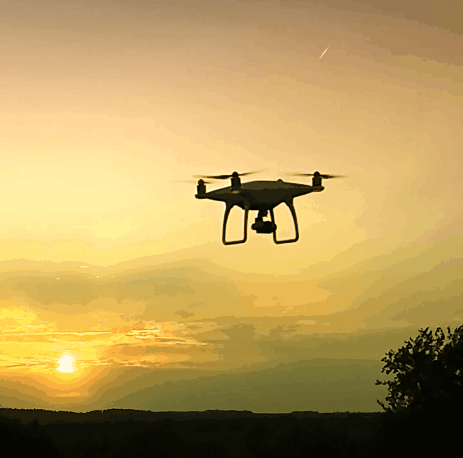 Landscape Photography Prints drone-imagery-phantom-4-night-flying-r