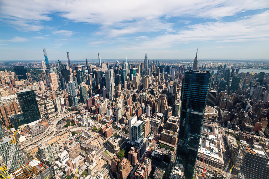 Aerial Photograph of New York