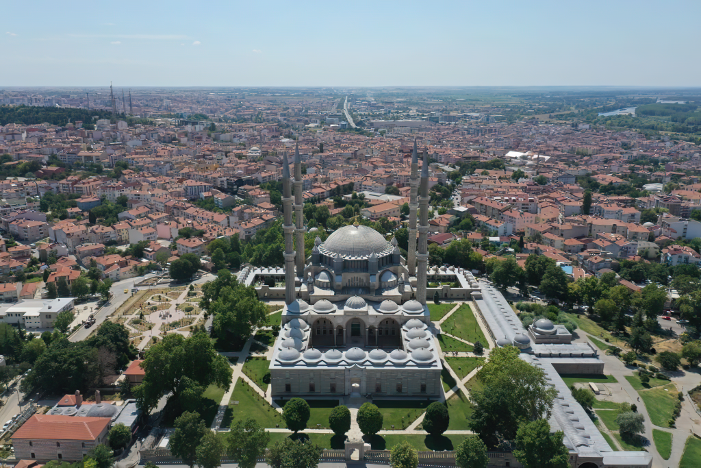 Aerial Photograph of Selimiye Mosque