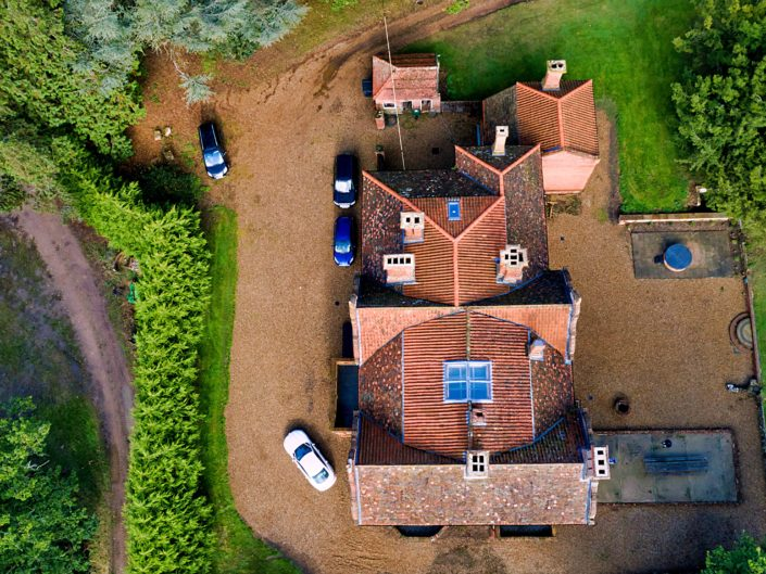 Bessingham Manor-weddings-drone-photography-norfolk-