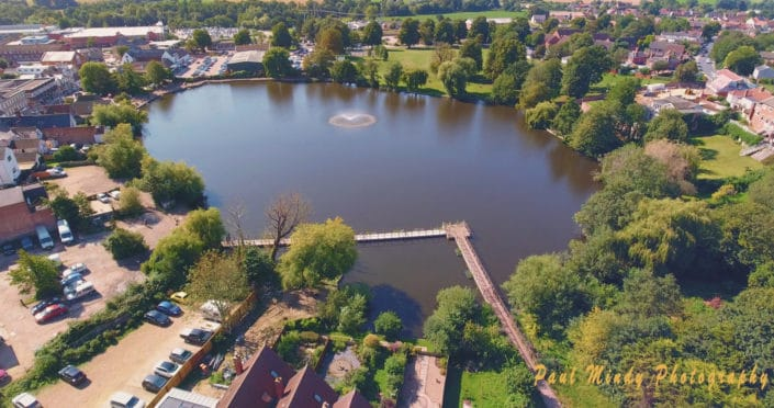 mere diss norfolk - drone imagery