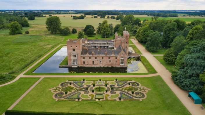 Oxborough-Hall-Norfolk-Drone-Imagery