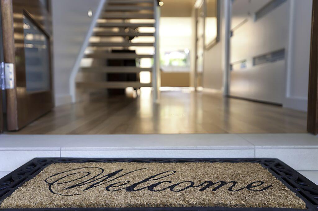 Welcome Mat Hallway